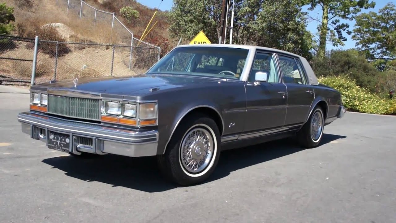 MINT 1 Owner 77 Cadillac Seville 350 Elegatne FOR SALE - YouTube