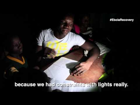 Sierra Leone Ebola Recovery: Solar Lanterns