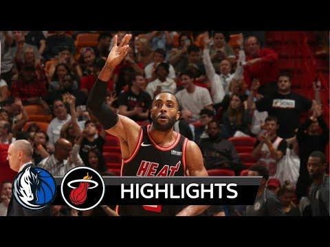 |HD| Dallas Mavericks vs Miami HEAT - Highlights / NBA / 22 December 2017