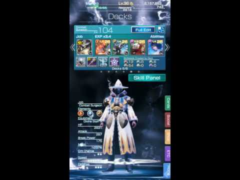 Final Fantasy Mobius : Current healing cards explained with mathematical analysis.