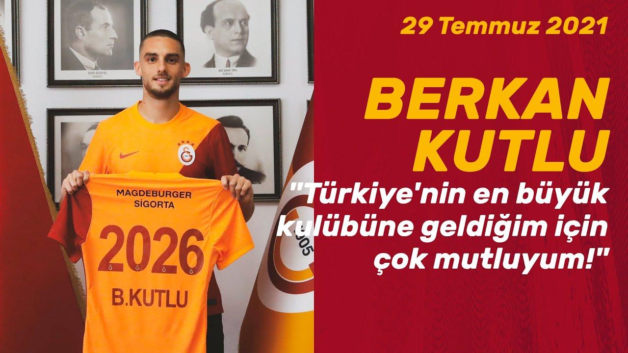 """📺 Berkan Kutlu: """"Türkiye'nin en büyük kulübüne geldiğim için çok mutluyum!"""""""