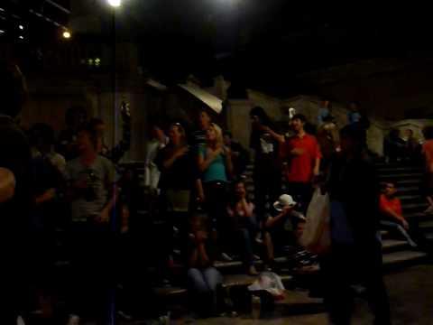spaanse trappen gertrudis rome excursie 2009