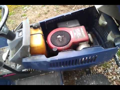 lowes riding mower 14hp 14 42 youtube MTD Riding Lawn Mower Wiring Diagram lowes riding mower 14hp 14 42