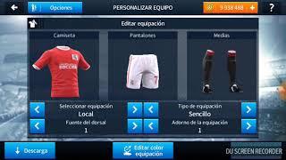 Cómo poner el kit y logo en dream legue soccer
