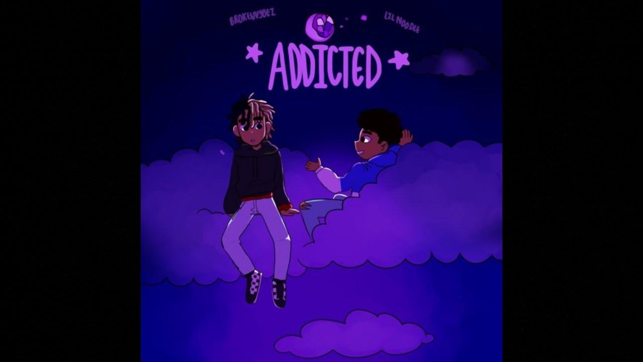 Download Lil Noodle - Addicted ft.@BrokenVybez (Prod. Xtravulous X Bruferr)