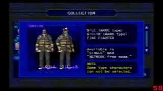 Resident Evil Outbreak(All Costume) Todos los Disfrazes