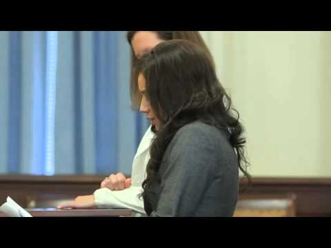 Alexis Wright Speaks in Court