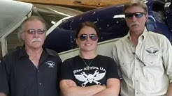 Airplane Repo crew Kevin Lacey, Gary Cobb & Heather Sterzick