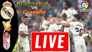 🔴LIVE: Real Madrid Vs Granada Live Streaming-La Liga 2020-RAM Vs Gra [LIVE] 14 july 2020