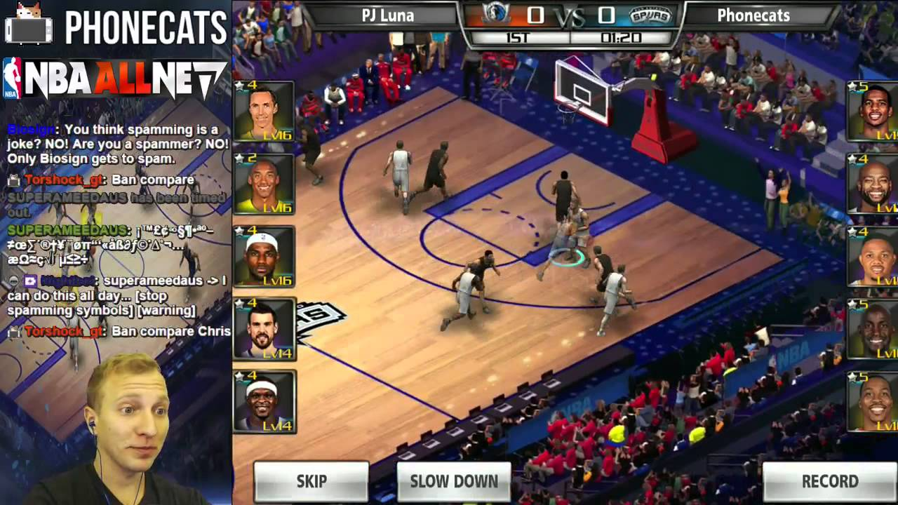Nba All Net Free Nba Card Game On Ios Android Youtube