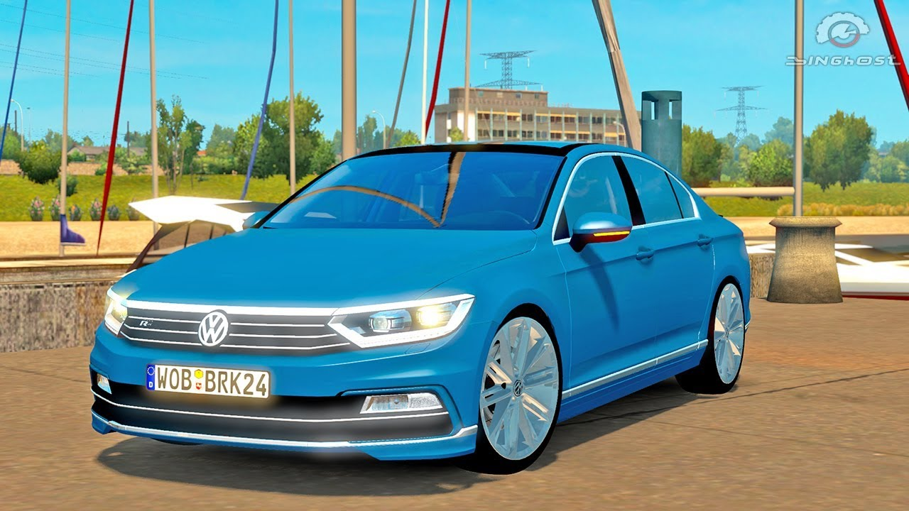vw passat ets2 euro truck simulator 2 youtube. Black Bedroom Furniture Sets. Home Design Ideas