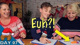 Ze Christmas French Word Game Play Doh Challenge