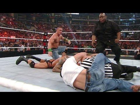 Brett DiBiase saves Randy Orton from John Cena