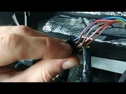 Установка проводки Мультируля для штатной кнопочной магнитолы