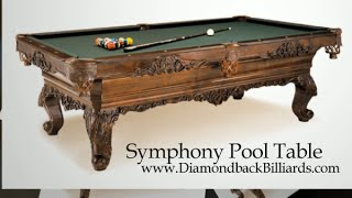 Symphony Pool Table By Olhausen, Call 480-792-1115 To Customize