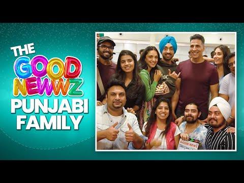 The Good Newwz Punjabi Family | Making | Akshay, Kareena, Diljit, Kiara | In Cinemas 27th December