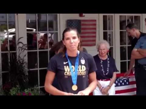 Tobin Heath in Basking Ridge