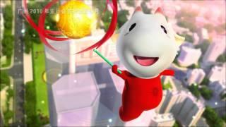 Gambar cover 2010 Asian Games Mascot Animation-3D Cartoon Animation.flv