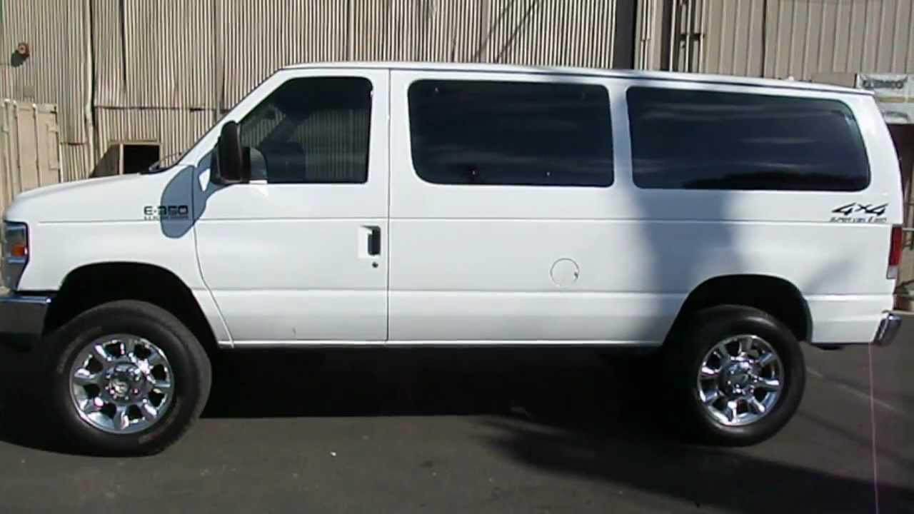 "Ford 4x4 Vans For Sale 2006 FORD E350 DIESEL """"VAN 4X4 - YouTube"