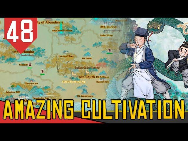 HORDA de AVENTUREIROS - Amazing Cultivation Simulator Immortal #48 [Gameplay PT-BR]