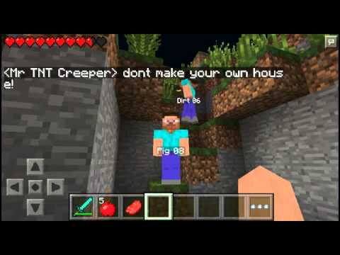 MCPE Hunger games map-Download link/0.10.5 - YouTube