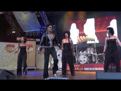 Fabulous Music Factory - Boney M feat. Bobby Farell Cover Medley (live) @ Kieler Woche 29.06.2013