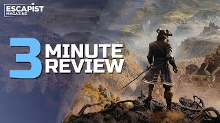 GreedFall | Review in 3 Minutes (Video Game Video Review)