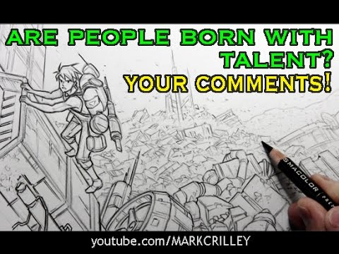 Are People Born with Talent? Your Comments! [Topic Video #9]
