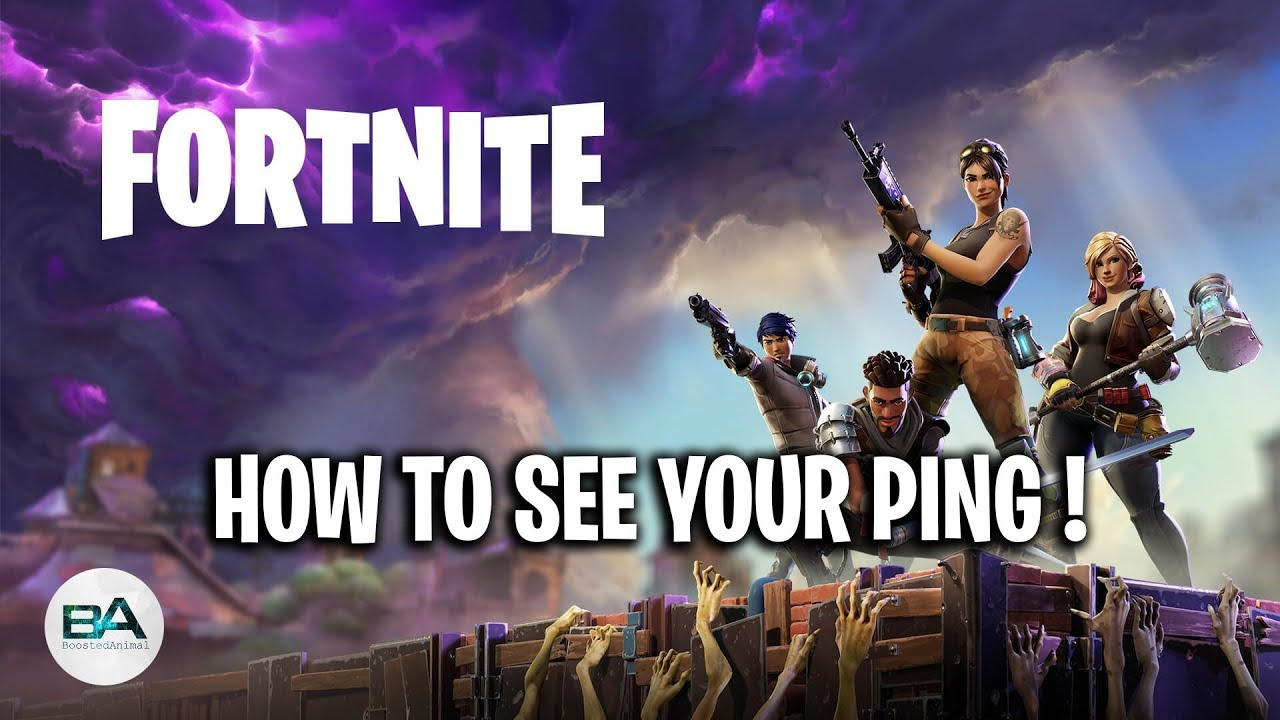 How To Show Ping In Fortnite Season 8 Pc