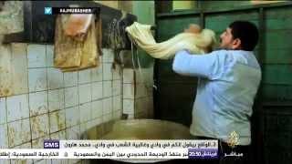حكاية .. إبراهيم النجار صانع حلاوة طحينية