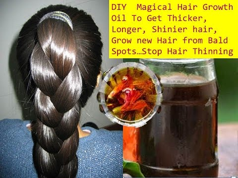 Homemade  Herbal Hair Oil for Faster Hair Growth ,Grow hair 1 inch in 7 days,Curry leaf herbal oil