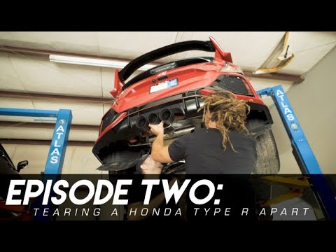 Tearing Down Our Honda Civic Type-R | First Round Of Parts!