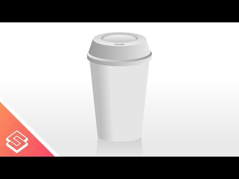 Inkscape Tutorial: Vector Coffee Cup