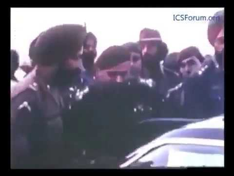 Footage of Pakistan's surrender in 1971 war at Ramna Race Course, Dacca