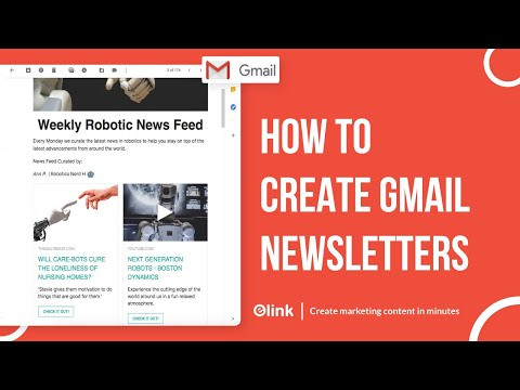 How To Create and Send HTML Newsletters in Gmail