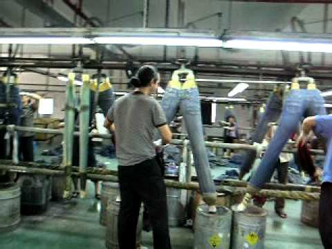 ALAN COBAN BERLIN - DENIM WASH FACTORY LIVE video - YouTube