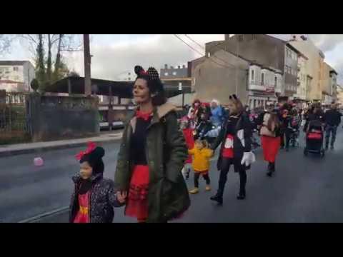 Desfile de Entroido pola rúas de Guitiriz
