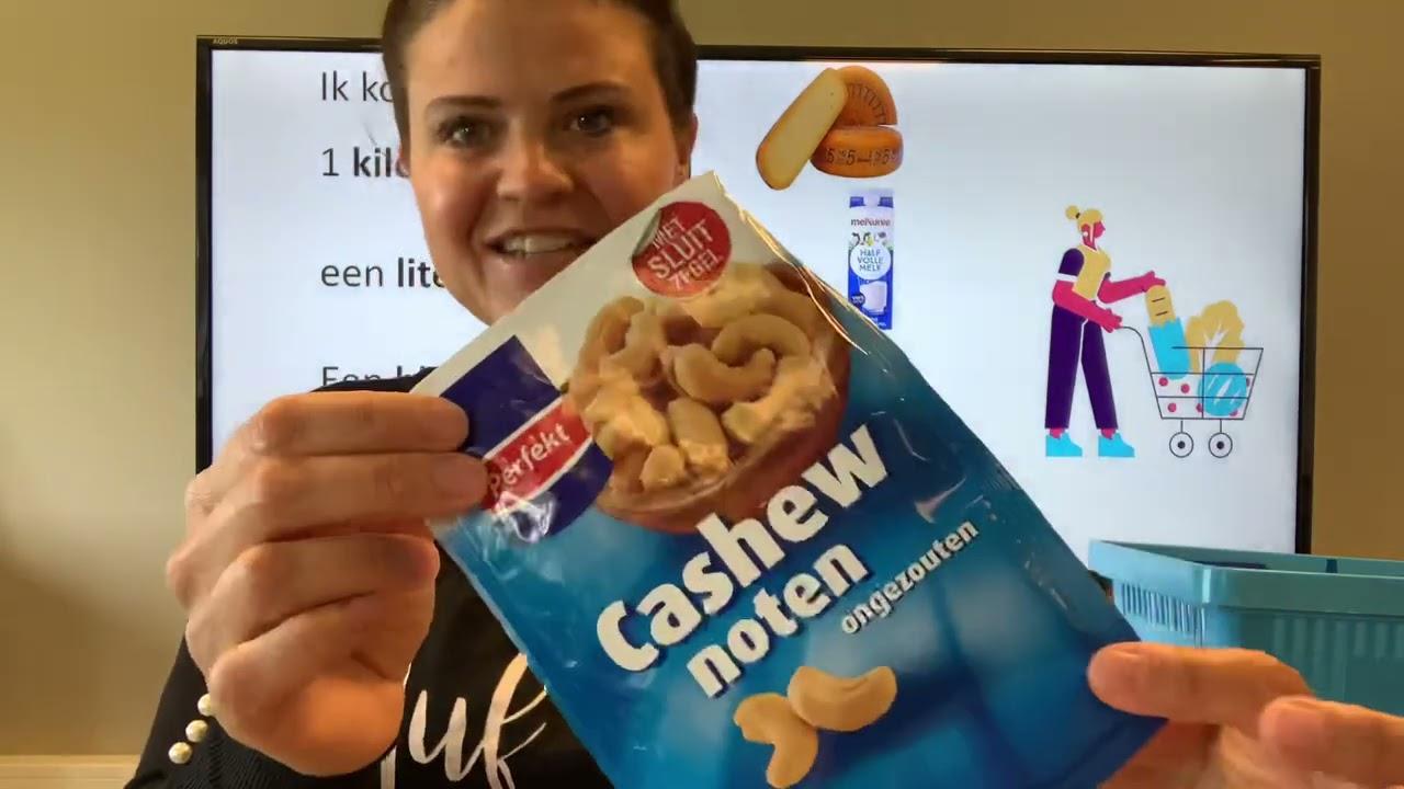 Download NT2  boodschappen: blikje,kilo,pakje, worst, ik sta in de rij! Nederlands leren TC 4.15 #learndutch