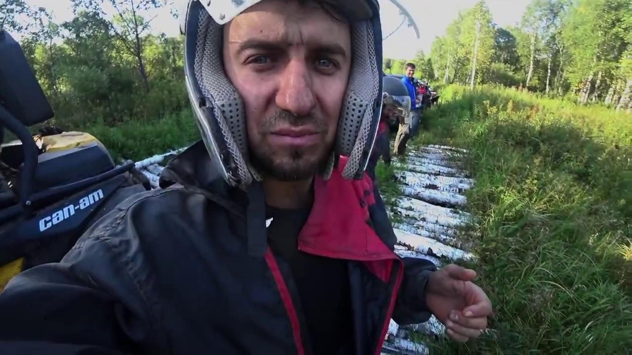3-й день. Сергей Трейсер провалился в БОЛОТО!!! Квадроциклы и Багги