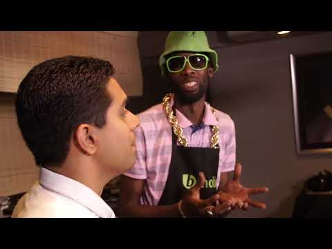 Bmobile Bubble With Us -- Chef Jason cooks with Sunny Bling Ep: 6