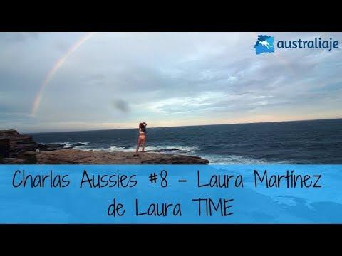 La asesora más divertida. Laura Martínez de Laura TIME. Charlas Aussies #8