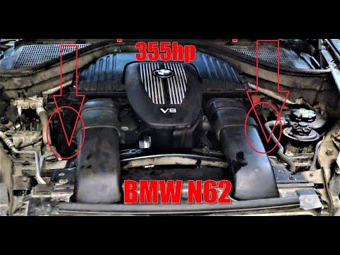 BMW X5 E70 N62 V8 4.8 355 л.с. проблемы мотора
