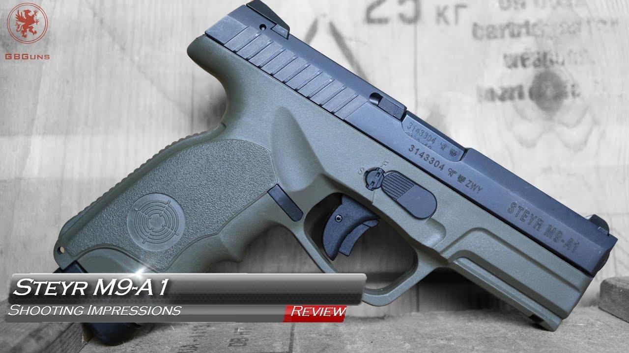 Steyr M9-A1 Shooting Impressions