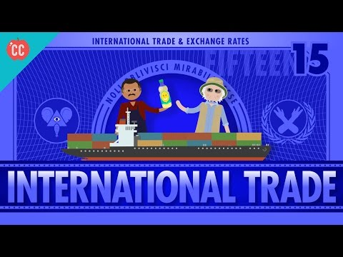 Imports, Exports, And Exchange Rates: Crash Course Economics #15