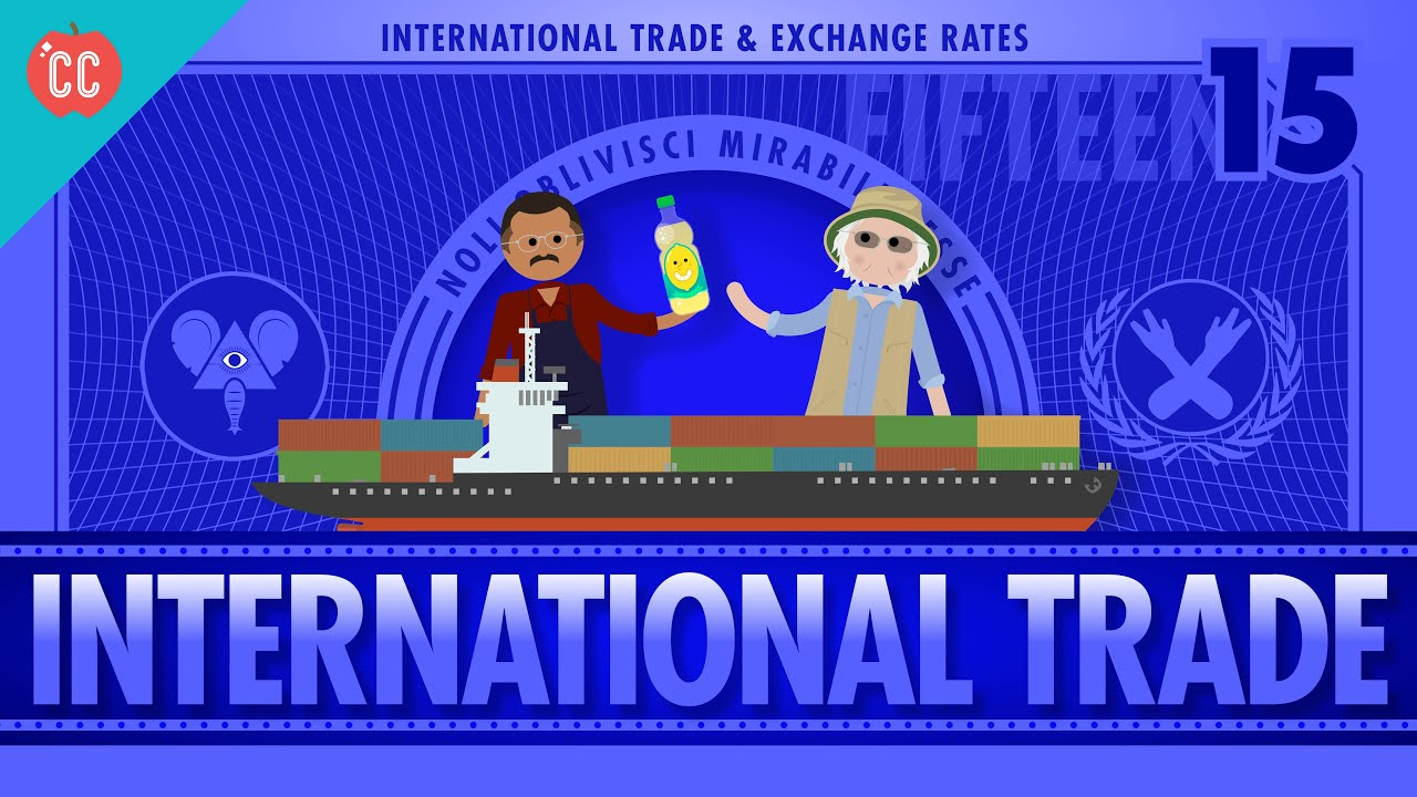 Imports, Exports, and Exchange Rates: Crash Course Economics #15 - YouTube