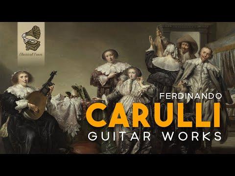 Ferdinando Carulli Guitar Works