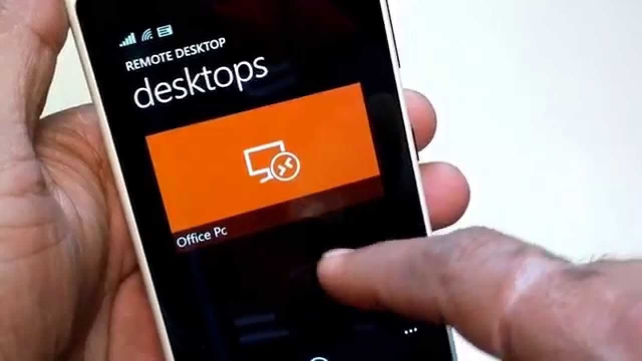Phone Can Windows Phone Use Android Apps remote desktop app for windows phone 8 1 youtube