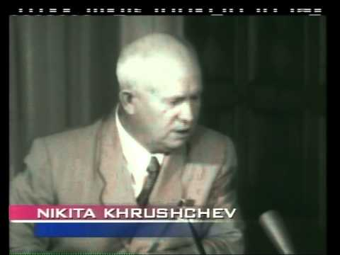 Nikita Kruschev on Face the Nation