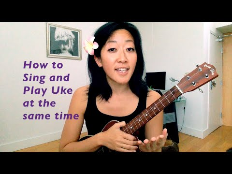 how to sing and play uke at the same time ukulele tutorial youtube. Black Bedroom Furniture Sets. Home Design Ideas