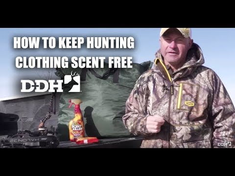 How To Keep Hunting Clothing Scent Free | Deer Talk Now @deerhuntingmag
